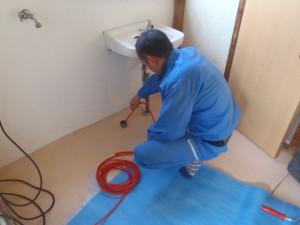 洗浄剤が詰まりの原因だった。トイレ 須磨区