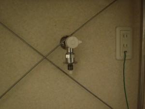 洗濯水栓の取替え 神戸市北区