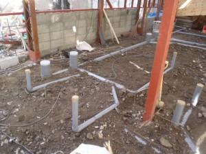 賃貸マンションの改築①排水設備工事 神戸市中央区