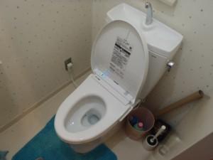 TOTO ピュアレストQR リモデル便器(手洗い有り)