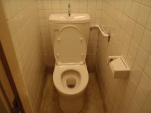 和式から洋式トイレへ 神戸市中央区 南京町