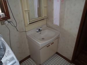 洗面所のリフォーム 神戸市長田区