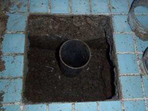 浴室トラップの交換 神戸市長田区