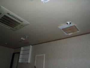 天井雨水管漏水工事 神戸市中央区