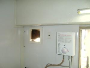 瞬間湯沸かし器の交換 神戸市須磨区
