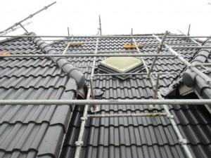 屋根 塗装 作業 神戸市 トラブラン 工事