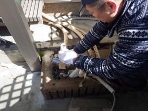 給湯器 エコキュート(東芝キャリア)の交換工事 神戸市北区鈴蘭台