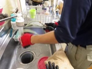 店舗,住居の排水管修繕1 神戸市長田区