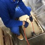 グリストラップ 配管清掃