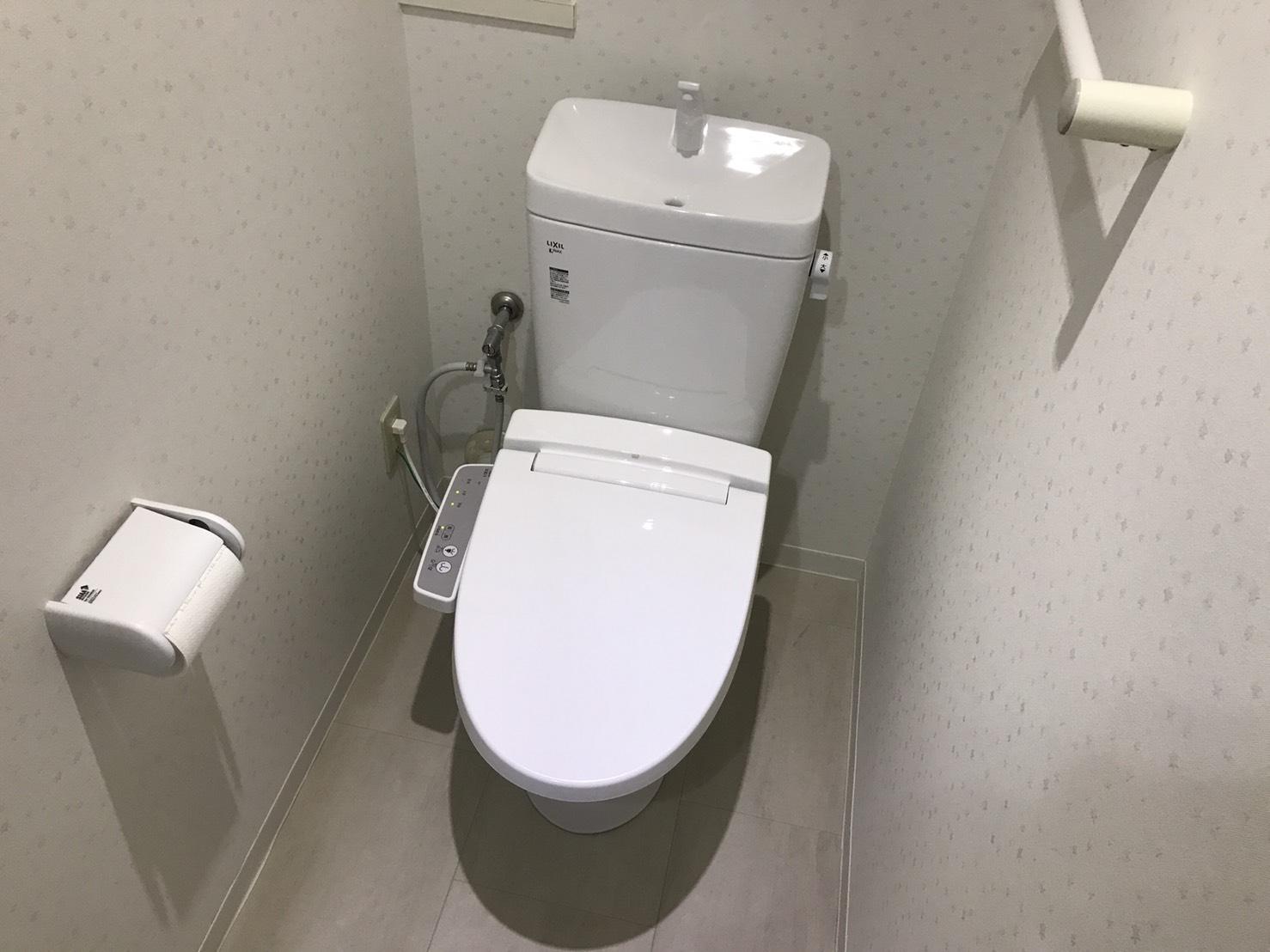 トイレリフォーム クロス・CF張替 便器・タンク・ウォシュレット交換