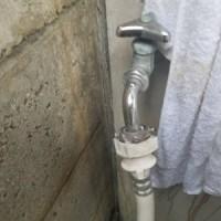 洗濯 水栓