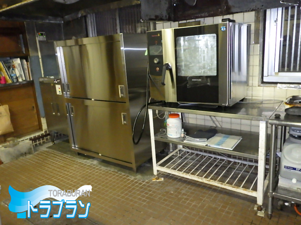 施設 厨房 調理器具 取替え工事 神戸市 トラブラン