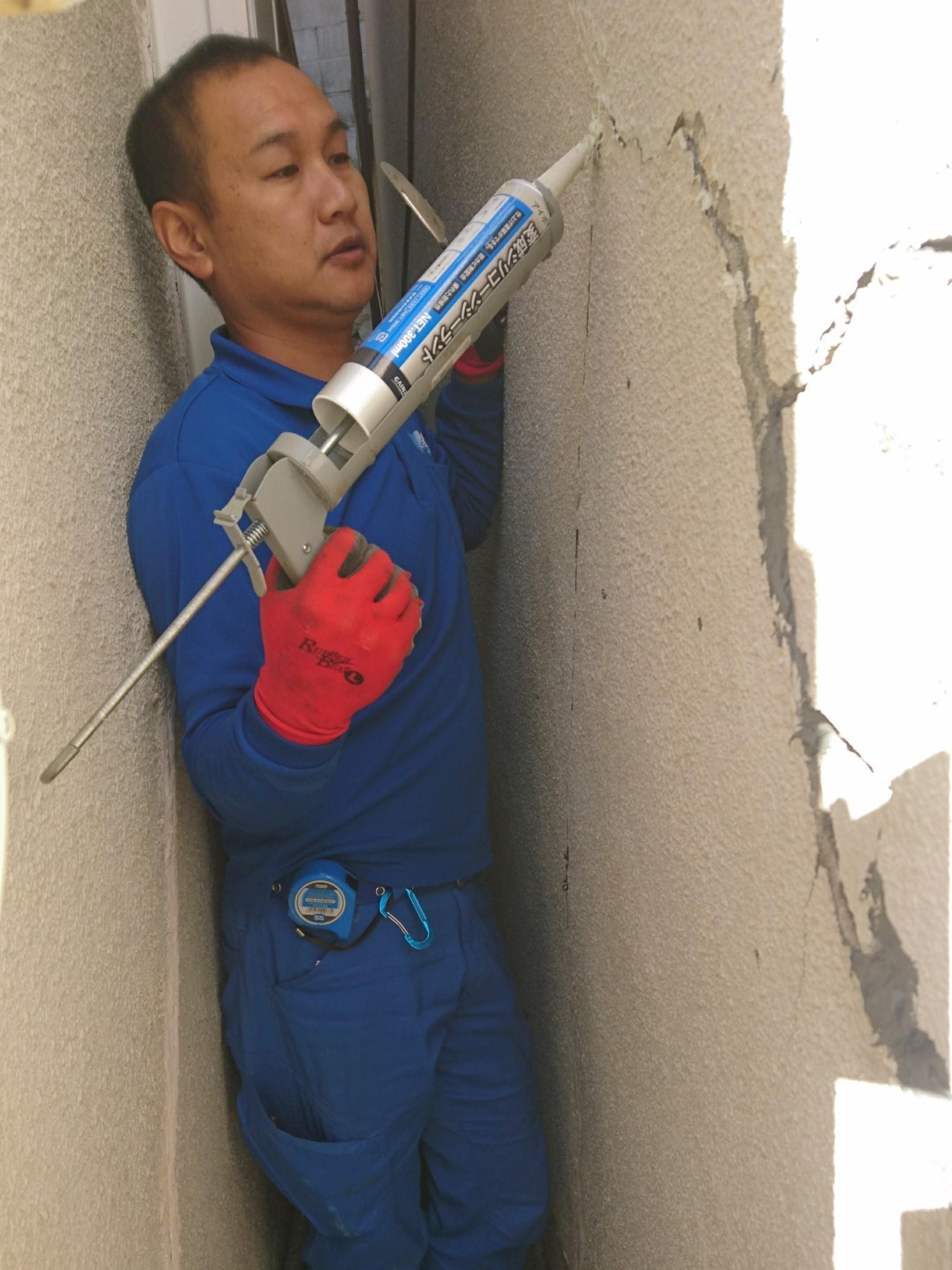 一戸建 外壁 崩れ 修繕 工事 トラブラン