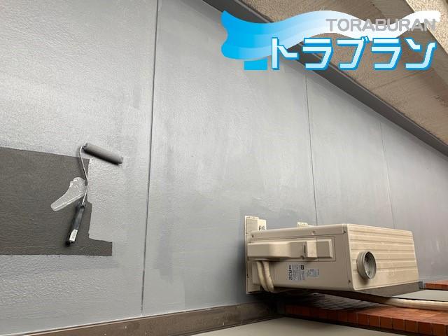 賃貸マンション ベランダ 防水加工 神戸市 トラブラン