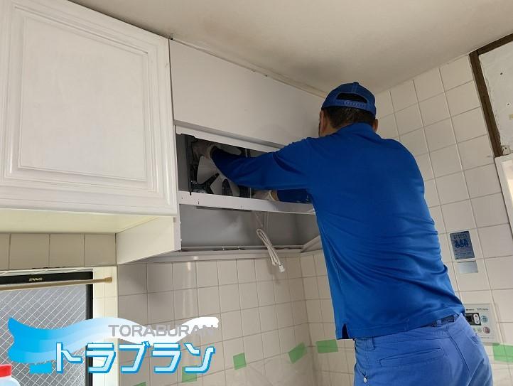 レンジフード 取替え 工事 キッチン トラブラン