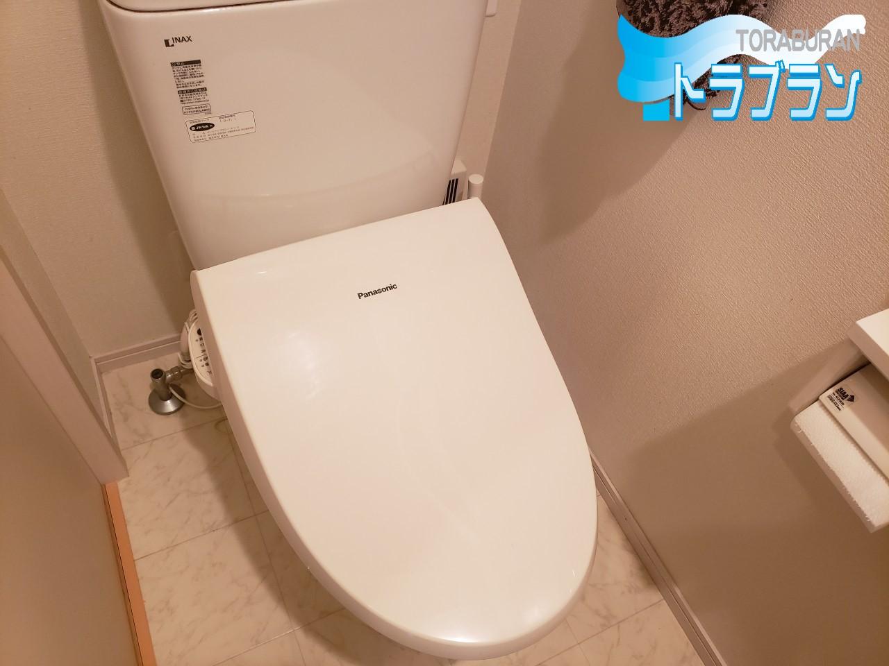 トイレ 便座 交換 工事 LIXIL リフォーム トラブラン