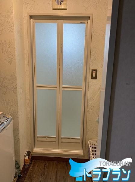 浴室ドア 交換 マンション リフォーム トラブラン