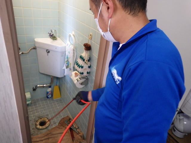 トイレ 詰まり 修繕 神戸 トラブラン