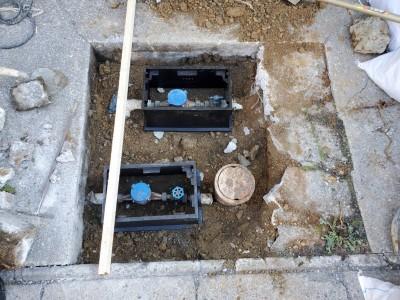 メーターボックス 設置 交換 止水栓 神戸市 トラブラン