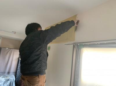 壁補修 パテ作業 壁紙張り替え 内装 トラブラン