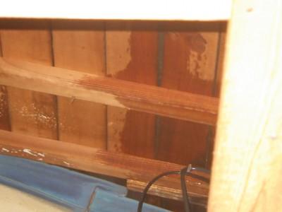 雨漏り 屋根 修繕 現調 天井上 トラブラン 神戸市