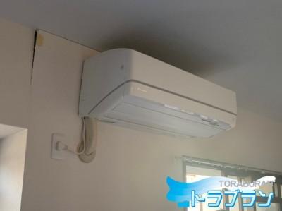 エアコン取付 壁補強 修繕 神戸市 トラブラン