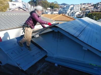 ルーフィングシート カッパ23 屋根下葺材 防水シート トラブラン