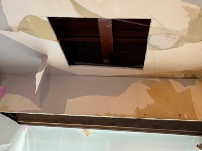 点検口 アップ 設置 雨漏れ 神戸市 トラブラン