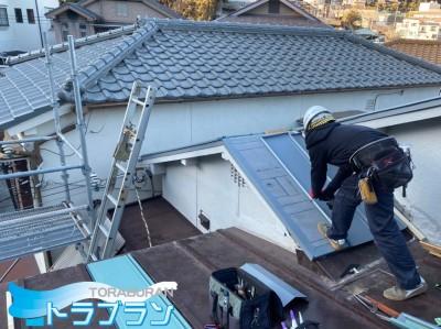 台風被害 瓦屋根 屋根修繕 神戸市 トラブラン