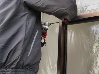 玄関ドア 間仕切り 撤去 トラブラン 神戸市 長田区
