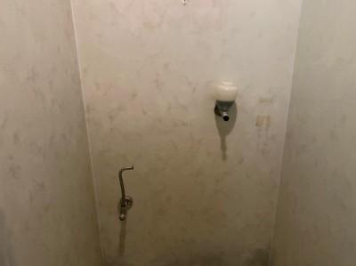 トイレ 撤去作業 配管 漏水対応 神戸市 トラブラン