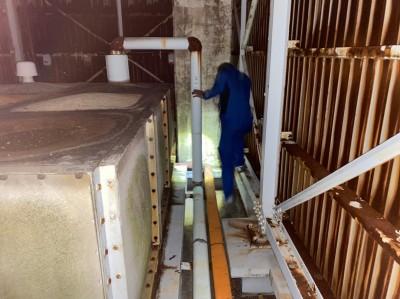 漏水調査 ホテル 神戸市 水漏れ トラブラン