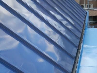 屋根 リフォーム 塗装補修 施工後 神戸 トラブラン