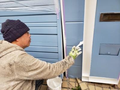 外壁 修繕 塗装 ポイント色 神戸市 リフォーム トラブラン