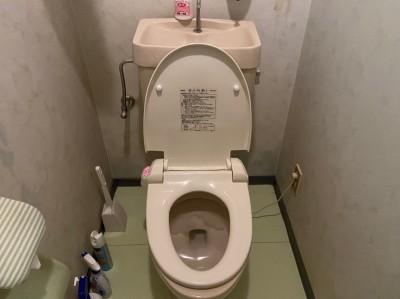 漏水対応 トイレ 撤去 修繕工事 トラブラン 神戸市