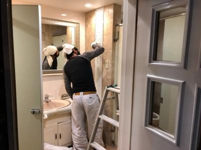 ホテル トイレ 修繕工事 漏水 神戸市 トラブラン