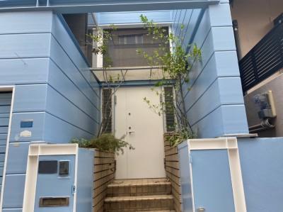 外壁塗装工事 外壁リフォーム 完成 神戸市 トラブラン
