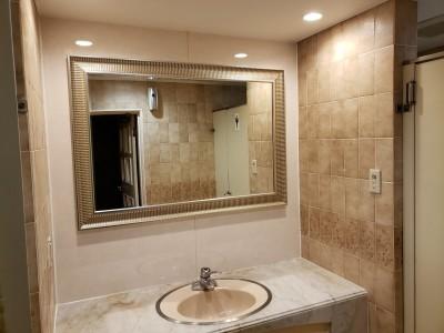 ホテル トイレ 洗面台 リフォーム 内装工事 神戸市 トラブラン