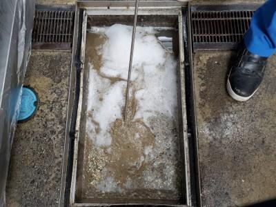 グリストラップ清掃 高圧洗浄作業 詰まり 神戸市 トラブラン