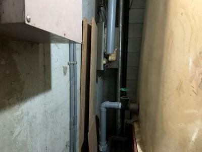 オーバーフロー管 排水管 修繕 工事 トラブラン 神戸市 須磨区