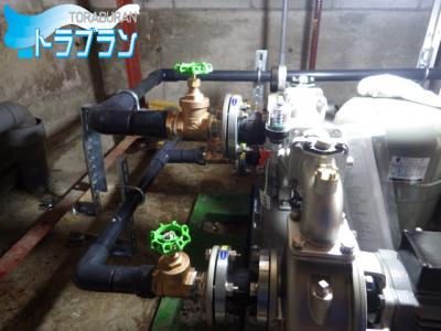 加圧給水ポンプ ビル 交換工事 神戸市 トラブラン 加圧ポンプ