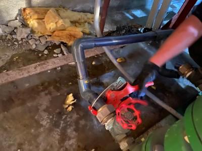 加圧ポンプ 配管取り換え ビルメンテナンス 神戸市 トラブラン