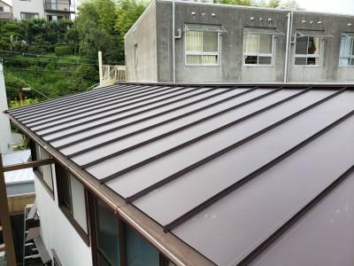 完成 屋根の修繕 神戸市トラブラン 兵庫区 カバー工法