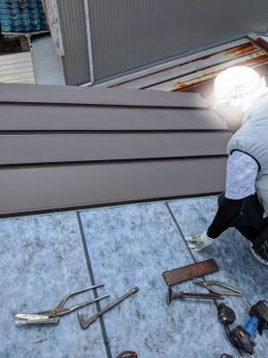 屋根 カバー工法 ストレート 雨漏り 修繕 神戸市 トラブラン