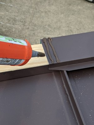 屋根 貫板 設置 棟板金 カバー工法 神戸市 トラブラン