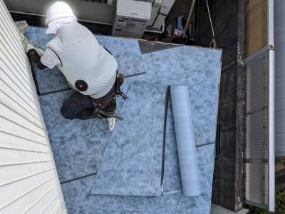 屋根改修 工事 外装 リフォーム 神戸市 トラブラン