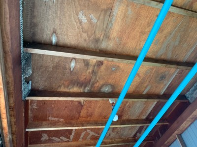 天井 雨漏り 屋根 水漏れ 修繕 改修工事トラブラン 神戸市
