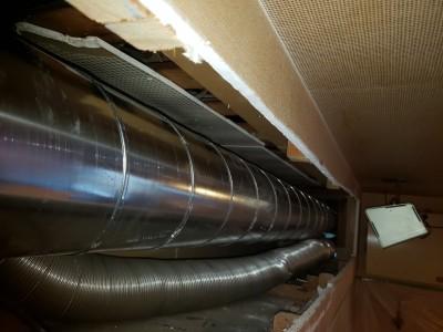 シロッコファン 配管の取替え 換気対策工事 補助対象 神戸市 トラブラン