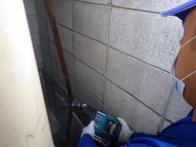 加圧給水ポンプ 交換工事 給水管取り替え 撤去 トラブラン 中央区