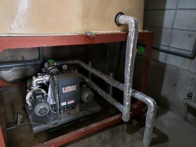 加圧ポンプ 保温材 設置 トラブラン 交換工事 神戸市